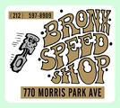 Vintage Bronx Speed Shop Decal
