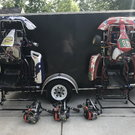 Two complete Lo206 Karts