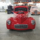 1941 Willys Coupe Glass