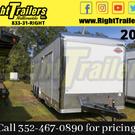 2021 8.5 x 32 Cargo Mate Race Trailer