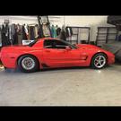 25.3 ZO6 Corvette rolling