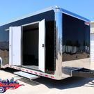 30' Black Shadow GT Enclosed Race Car Trailer Wacobill.com