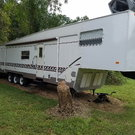 $14,999k 37' Play-Mor 5th wheel Toy hauler Camper/Trailer