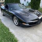 Corvette Triple Black convertible