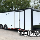 2020 Haulmark Edge Race Trailer