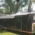 48' enclosed gooseneck, 20' garage 28' LQ