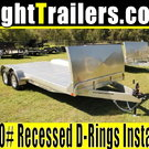 18' ATC Trailers Car Hauler w/ Gravel Guard