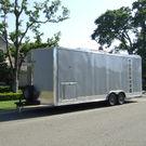 24' Enclosed Millennium Trailer with Generator