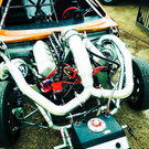 BBC twin turbo chassis car