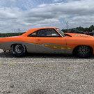 1967 Plymouth Barracuda drag car