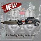 Hotrod Deuce Coupe Folding Knife