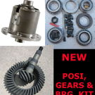 GM 8.5 10 Bolt TrueTrac POSI - GEARS - BEARING KIT PACKAGE