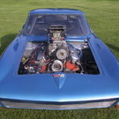 Blown 63 Corvette Split Window Tube Chassis Door Car