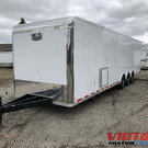 2019 Vintage 34' Race Trailer with Bathroom Package