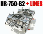 UICK FUEL HR-750-B2 BLOWER SUPERCHARGER CARBS GAS WITH FUEL   for sale $1,800