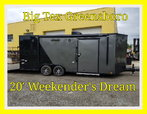 2019  20' Manager Demo Weekender Toy Hauler
