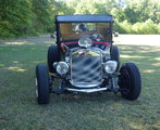 1926 Ford Model T Coupe Hot Rod.