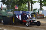 Tractor Pull Chassis Less Engine