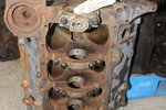 GM 14088548 Small Block Chevy 350 Bare Block 4 Bolt Main ARP