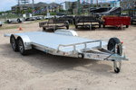 CARGO PRO 20' Open Aluminum Trailer with Manual Tilt Deck -
