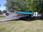 48' Motorsports gooseneck all aluminum trailer