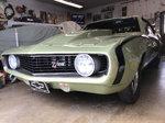 1969 Camaro show quality