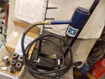 Professional Portable Ehxaust Pipe Air over Hydraulic Tube E