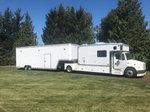 2008 36' Featherlite stacker trailer