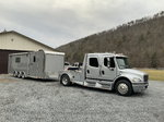 2006 sport chassis freightliner/ATC custom trailer