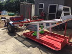 ATV transfer sled
