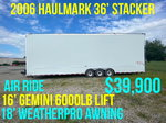 2006 36' Haulmark Stacker