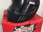 G-FORCE MATTE BLACK RACING HELMET