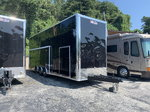 NEW 30' OUTLAW STACKER RACE TRAILER WITH 10' LOF