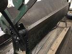 8' sheet metal bending brake