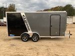 2019 Legend Aluminum 7 x 18 Tandem Axle Enclosed Trailer 7K