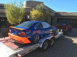 2015 Featherlite 3110 20ft Aluminum Power Lift Open Car Trai
