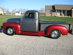 1952 CHEVY 3100 SHORT BED HOT ROD TRUCK. SALE MAY TRADE. REA