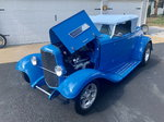 1932 Ford Roadster Grabber Blue Street Rod
