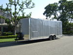 24' Enclosed Millennium Trailer with Generator