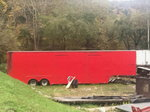 Butch Leal's Rod Shop Pro Stock Race Trailer 49ft long x102