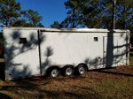 2005 28ft enclosed car hauler.
