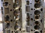 Chevy Bowtie Aluminum Heads, 10134383, 18 Degree