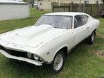 1969 chevelle drag car roller