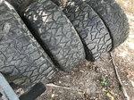 17x10 Aluminum Wheels w/ 35/12.50-17 MT Radials 8 lug Chevy
