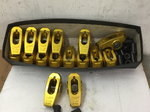 USED SET OF CRANE BB CHEVY GOLD ROCKER ARMS