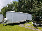 2004 FEATHERLITE ENCLOSED 25' CUSTOM TRAILER