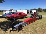 Dragster 2002 S&W 4-link less engine