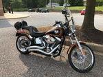 2008 Harley Davidson Softail Custom 105th Anniversary bike 9