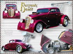 33 Willys Gasser-Burgandy Bandit
