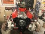 Sbc twin turbo headers brand new